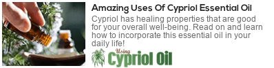 Cypriol essential oil for stress