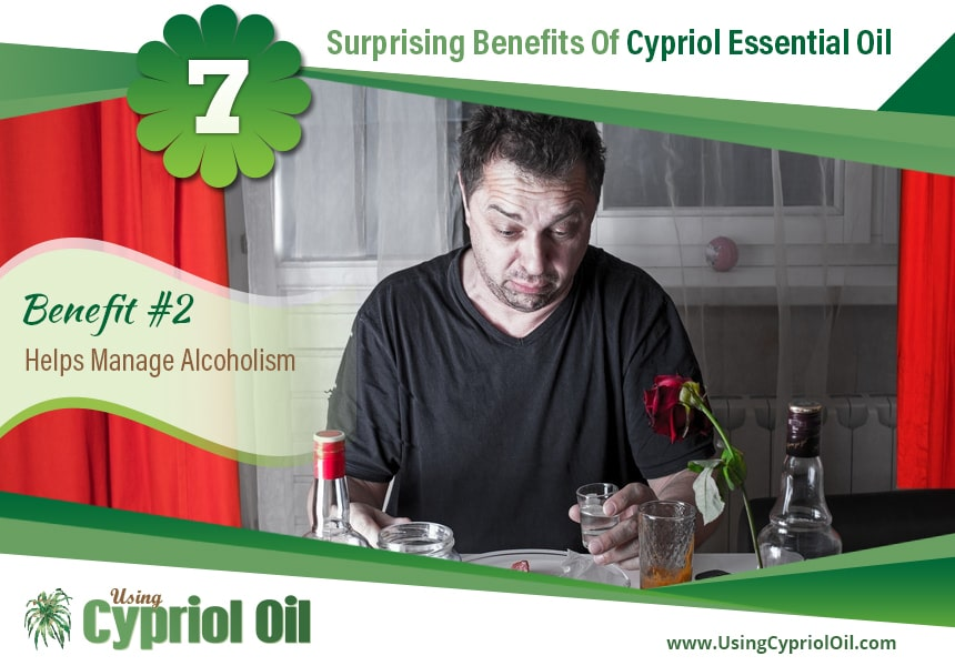 Cypriol essential oil for acne