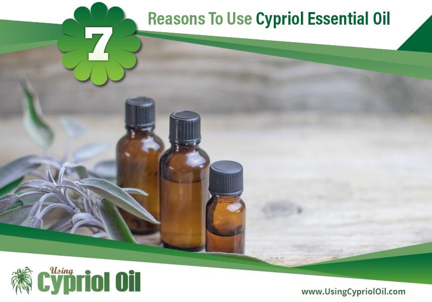 Cypriol essential oil uses